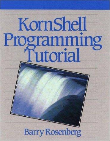 Image 0 of KornShell Programming Tutorial