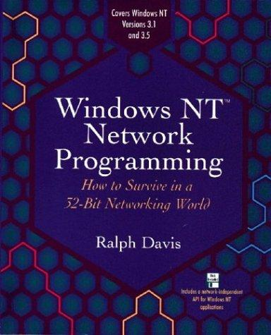 Windows NT network programming by Davis, Ralph