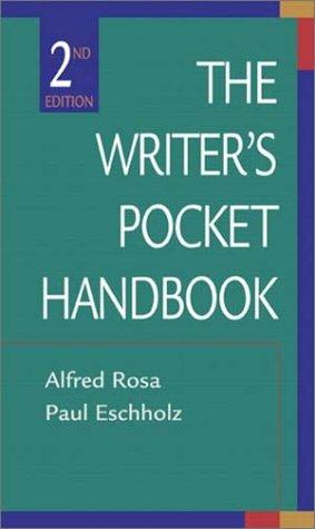 The writer's pocket handbook