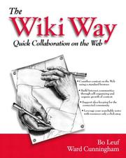 The Wiki way: quick collaboration on the Web (2001)