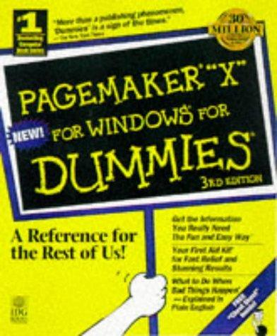 PageMaker 6.5 for dummies, Internet edition by Galen Gruman