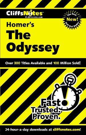CliffsNotes on Homer's The Odyssey by Stanley P. Baldwin