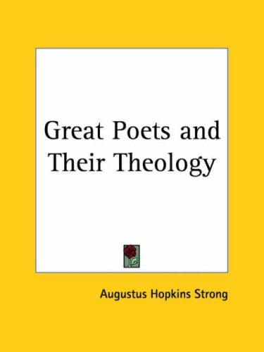 Great Poets and Their Theology