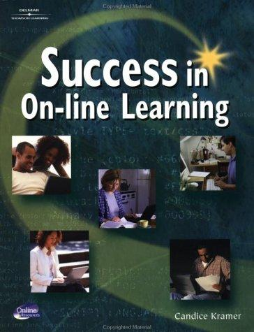 Success in on-line learning by Candice Kramer