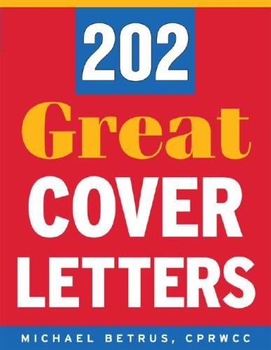 202 great cover letters by Michael Betrus