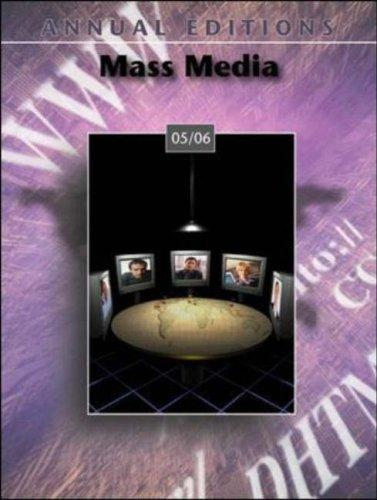 Annual Editions: Mass Media 05/06 (Annual Editions : Mass Media) by Joan Gorham