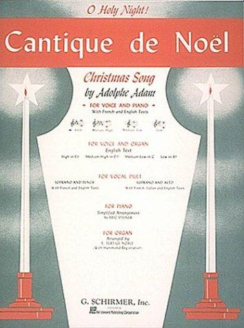 Cantique de Noel (O Holy Night) by Adolphe Adam
