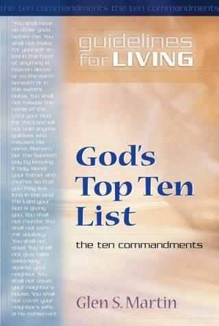 Gods Top Ten List by Glen Martin