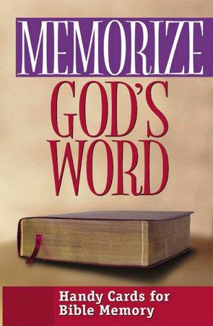 Memorize God's Word by Moody Press