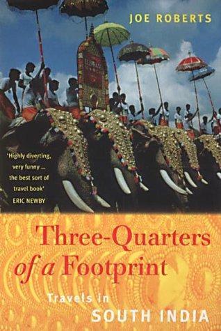 Three-Quarters of a Footprint