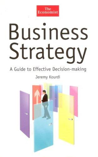 Business strategy by Jeremy Kourdi