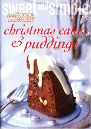 Christmas Cakes and Puddings by Australian Women's Weekly