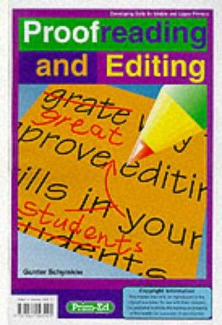 Proofreading and Editing by Gunter Schymkiw