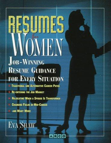 Resumes for women by Eva Shaw