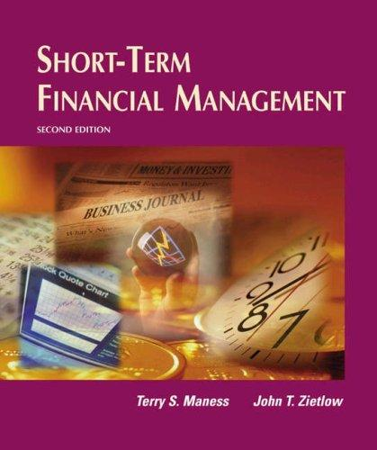 Short-term financial management by Terry S. Maness