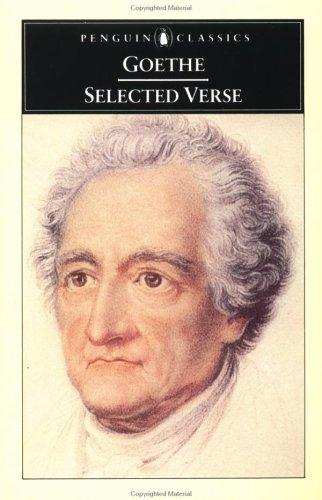 Selected Verse by Johann Wolfgang von Goethe
