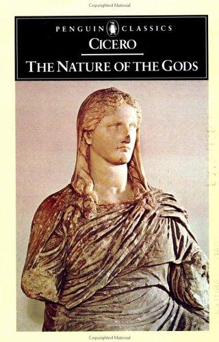 The nature of the gods. by Cicero