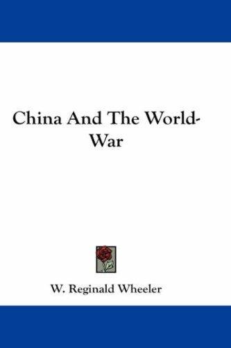 China And The World-War