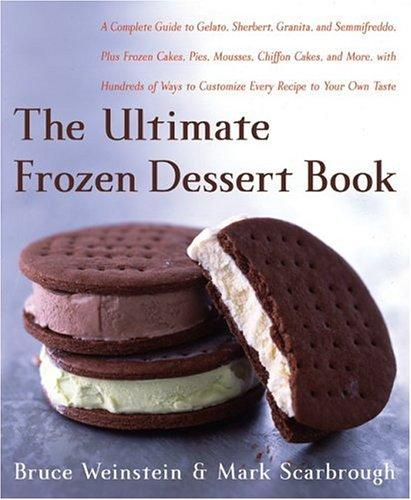 The ultimate frozen desert book by Bruce Weinstein