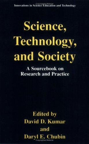 Science, technology, and society by