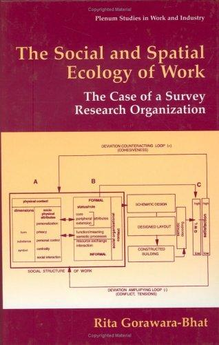 The social and spatial ecology of work by Rita Gorawara-Bhat