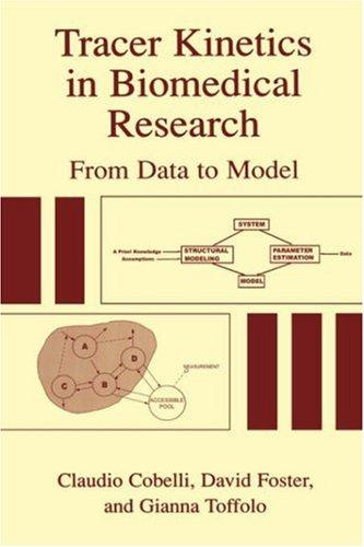 Tracer kinetics in biomedical research by
